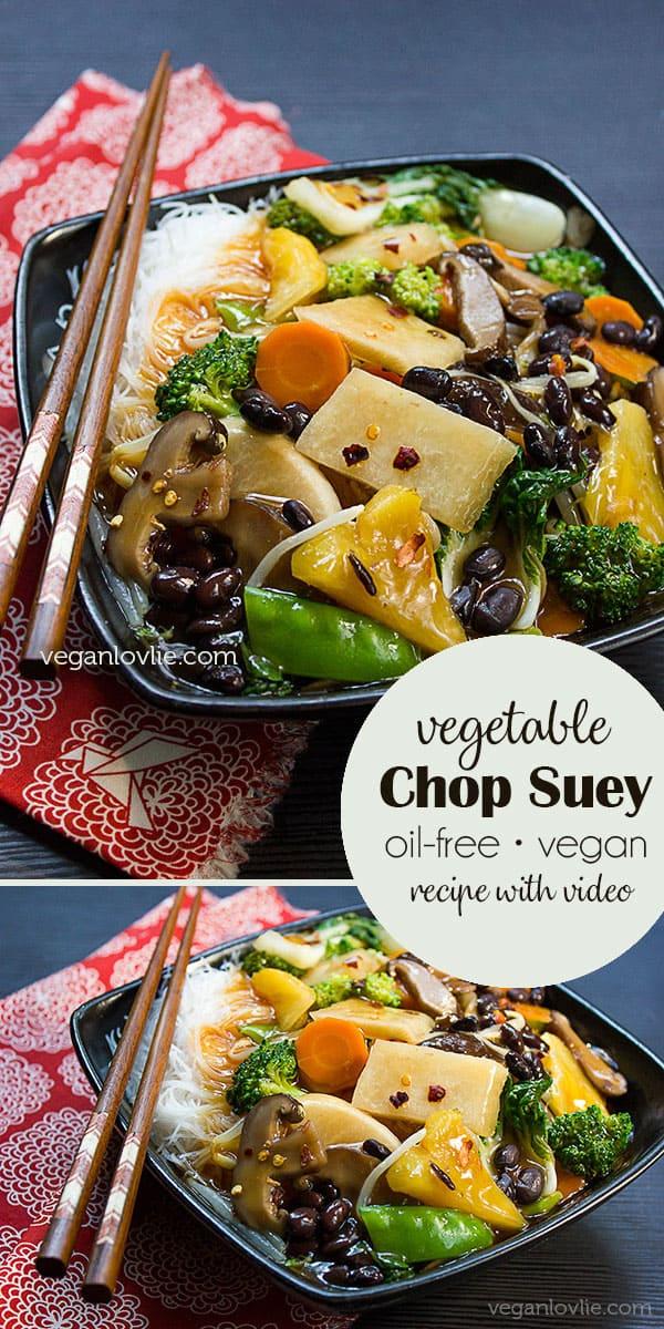 vegetable chop suey recipe video Vegetable Chop Suey with Jicama & Black Beans