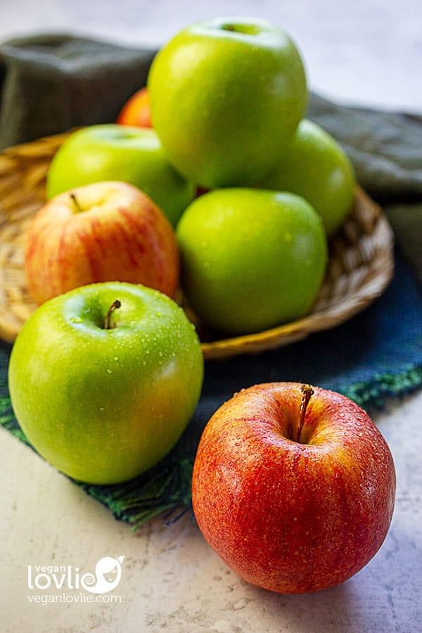Organic Washington apples