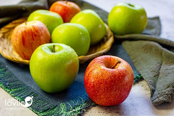 pommes biologiques Washington